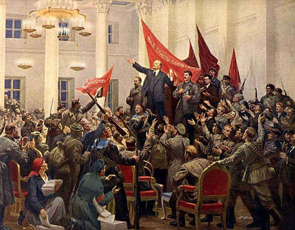 Великая Октябрьская социалистическая революция  и её влияние на мировую историю