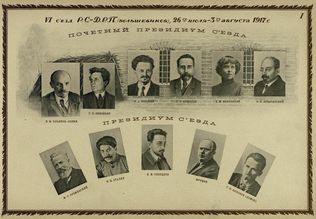 О  шестом съезде РСДРП (б)