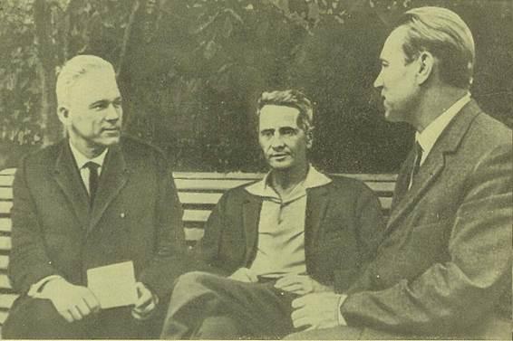 Сыновья двоих участников 1 съезда РСДРП – активные участники борьбы против фашизма