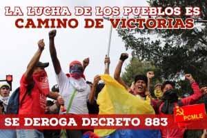 Срочное заявление Центрального Комитета Марксистско-ленинской коммунистической партии Эквадора
