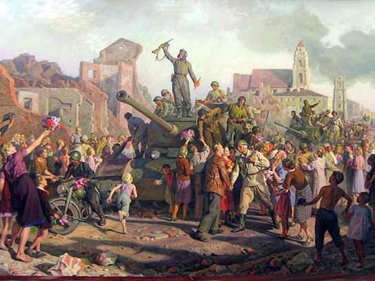 С 76-й годовщиной освобождения Советской Белоруссии  от немецко-фашистских захватчиков!